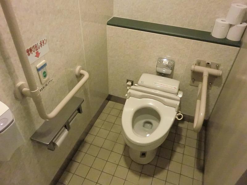 障害者用トイレ内の画像 クリック・Enterで拡大