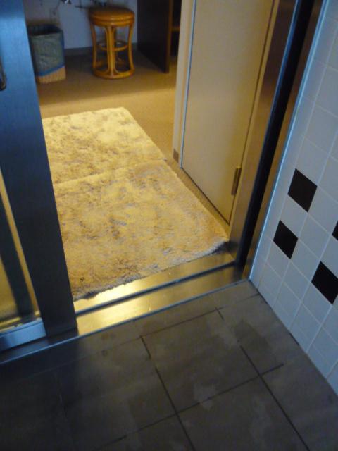 脱衣所から浴室への入口の画像 クリック・Enterで拡大