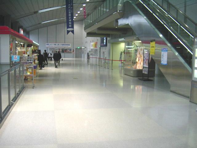 ターミナル内部の画像 クリック・Enterで拡大