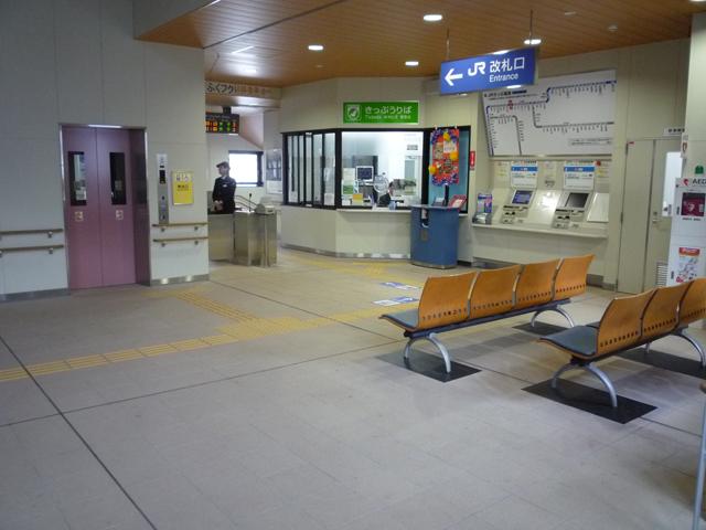 駅舎 二階の画像 クリック・Enterで拡大