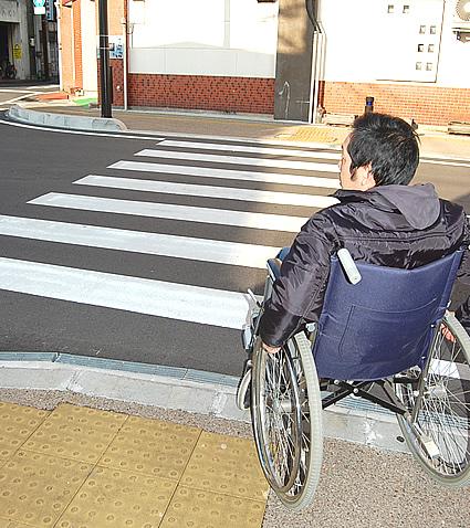 途中の横断歩道の画像 クリック・Enterで拡大