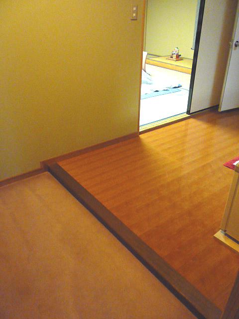 2階客室、殿島(とのじま)の入口の画像 クリック・Enterで拡大
