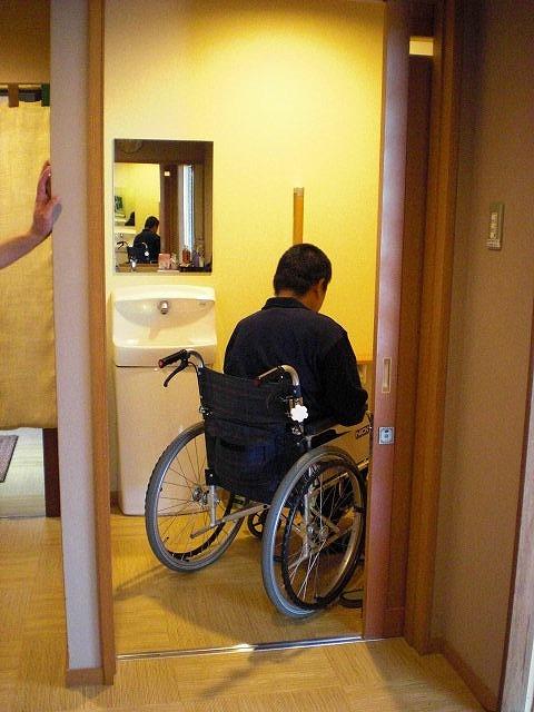 身障者用トイレの画像 クリック・Enterで拡大