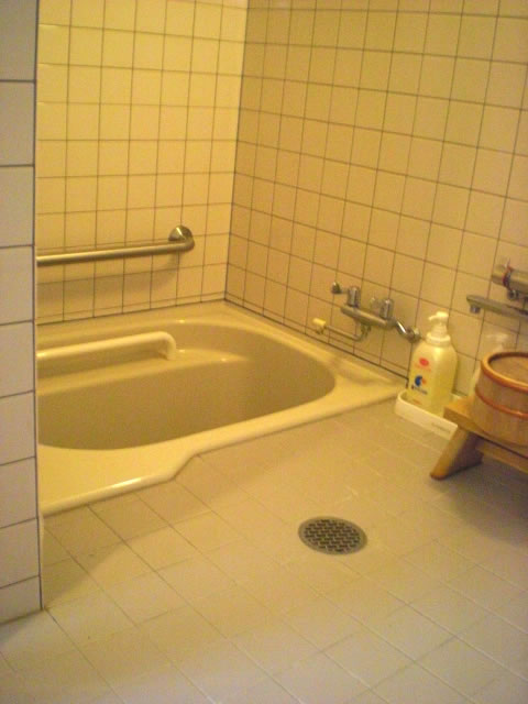 バリアフリールームの浴室内の画像 クリック・Enterで拡大
