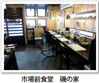 市場前食堂 磯の家のフロアの写真です。クリックすると市場前食堂 磯の家のバリアフリーデータの詳細ページへ移動します。