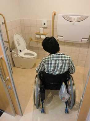 障害者トイレの画像 クリック・Enterで拡大