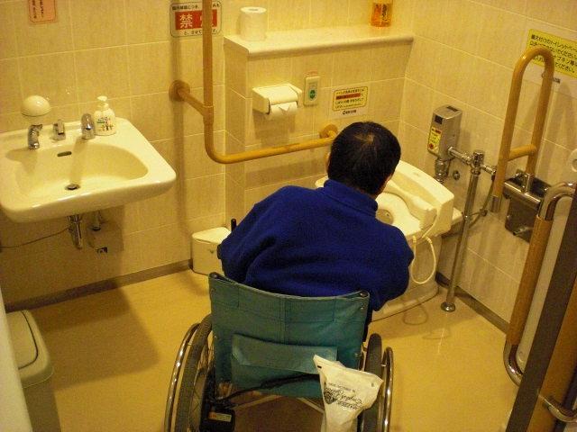 館内多目的トイレ 内部の画像 クリック・Enterで拡大