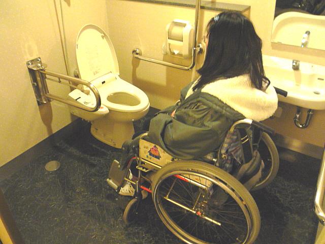 1階身障者トイレの画像 クリック・Enterで拡大