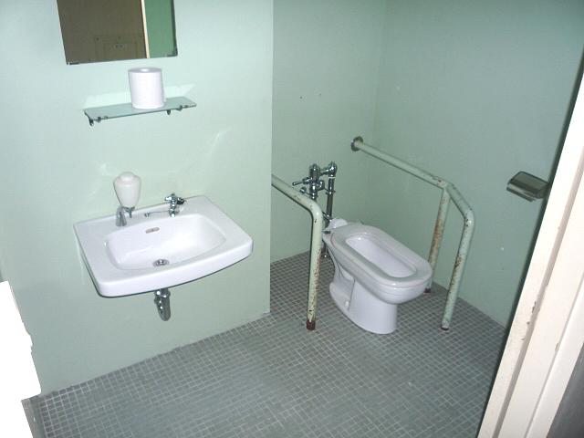コミュニティセンター内の身障者トイレの画像 クリック・Enterで拡大