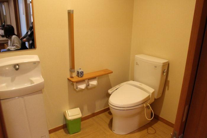 家族風呂トイレの画像 クリック・Enterで拡大